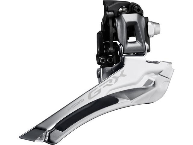 Shimano GRX FD-RX810 Przerzutka przednia 2x11 Braze-On, black